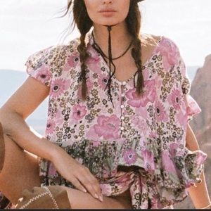 NWT Spell & gypsy Collective desert daisy flutter